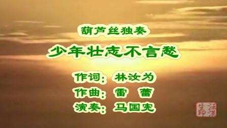 葫芦丝独奏《少年壮志不言愁》演出实况录像
