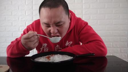 中国吃播vlog评测燕麦香蕉粥视频