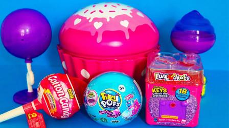 棒棒糖奇趣蛋超大蛋糕造型铁壳蛋玩具
