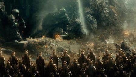 《霍比特人3五军之战》未删减版,当精灵士兵冲出来的时候燃爆了。4k画质赶紧收藏