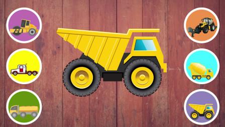认识大型压路机 铲雪车 自卸卡车等6种工程车