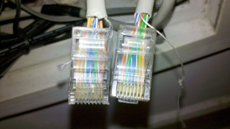 网线两头的线,它们是如何形成交叉更替的呢?今天算长见识了