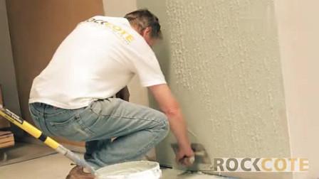 水泥纤维板墙体薄抹灰