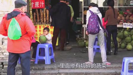"""海南旅游呼声最高""""网红""""饼, 配上椰子汁, 别用一番风味"""