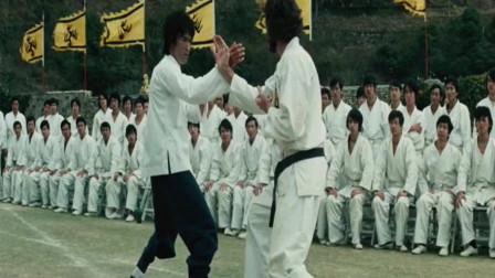 李小龙比武实在太精彩,招招制敌,一声怒吼,一脚定乾坤