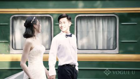 Vogue U作品/Jin&Zhou从校服到婚纱的爱情婚礼快剪