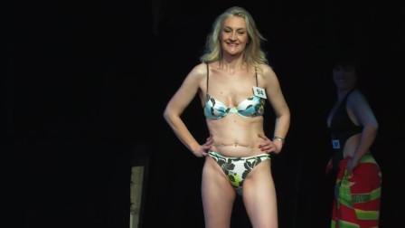 洛杉矶世界小姐大赛泳装秀,大码模特的魅力就是不一样!