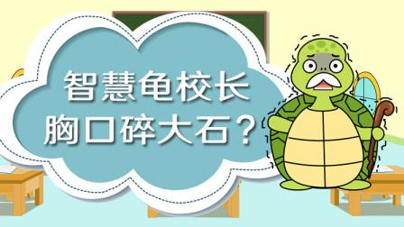 呆狸第33集:智慧龟校长胸口碎大石?
