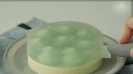 世界上竟还有玻璃水晶蛋糕,像果冻一样,天哪居然能这么好吃