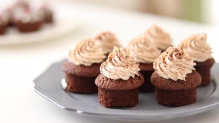 巧克力杯子蛋糕-松软湿润,入口绵绵,婚礼,生日趴首选小可爱一枚