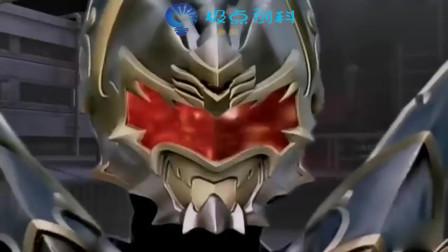 铠甲勇士:帝皇侠全副武装,瞬间能重创黑暗之王,其威力让你见识到强大