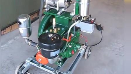 中国制造常发R175柴油机,听一听1500转引擎的声音