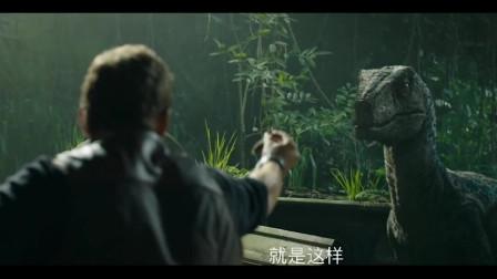 侏罗纪公园2:小伙渐渐放心,迅猛龙还记得他,没有直接攻击他