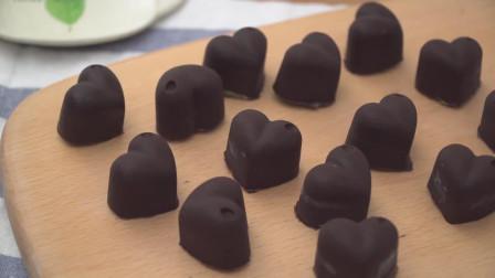 夏日的浪漫——外硬内软的日式抹茶冰激凌夹心巧克力