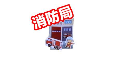 宝宝涨知识,一个立体消防局是这样用卡纸做出来的,制作方法简单又快捷