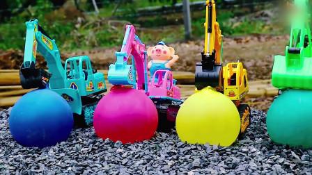 每一个水球里都藏着一辆迷你小汽车,这可真炫酷呀