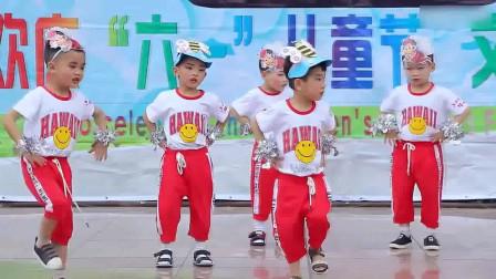 幼儿园舞蹈《小蜜蜂》六一儿童节
