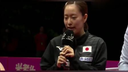 石川佳纯采访被要求用日语,石川一直忍着:我会中文!翻译很尴尬