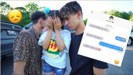 熊孩子的小表妹被弄哭,哥俩赶忙安慰,网友:这么暖心哥哥哪里找