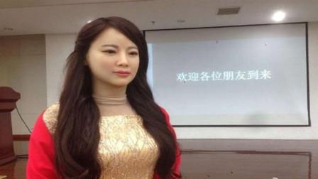 单身汪有福了,中国发明明星机器人,33万就能买回家!