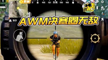 和平精英:AWM决赛圈无敌?什么武器你觉得厉害?
