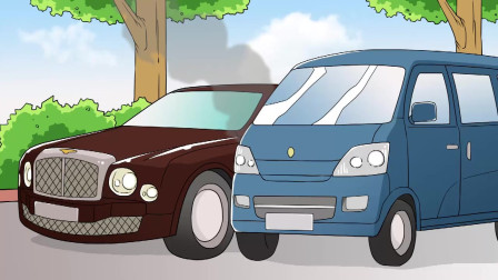 老大爷开车不小心撞了宾利,把宾利车主吓得跳起钢管舞,这是什么操作?