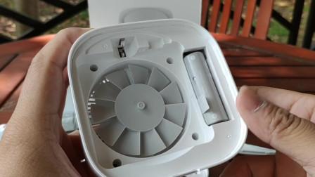小米生态链夏日专品,米家驱蚊器基础版,安装电池要注意!