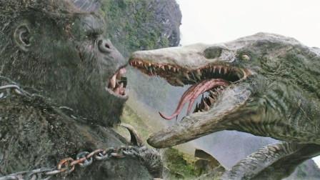 金刚不出,谁与争锋,怪兽之王杯决赛,六分钟看《金刚:骷髅岛》