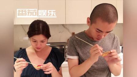 陈妍希陈晓罕见秀恩爱,疑似为新片宣传结婚3年26字诠释婚姻