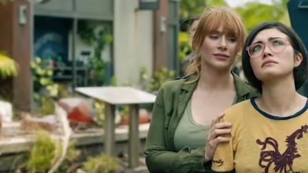 侏罗纪公园2-美女不敢相信,有生之年,她还能见到,活的恐龙