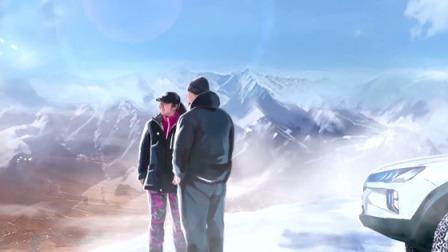 侣行夫妇穿越风雪,荒野中艰难扎营
