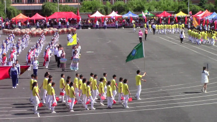 英林学校第七届田径运动会 (检阅式二)