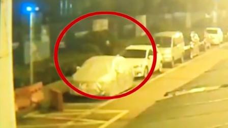 男子凌晨砸车窗盗窃多起,警方:太嚣张了!连续蹲守10天抓获