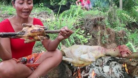 这样烤鸡一点不好吃,大家不要尝试,我试过!