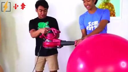 小哥把气球玩出新高度,网友:不是人造革,是真的皮!