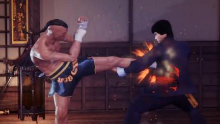 格斗游戏《少林VS武当》:泰拳VS截拳道