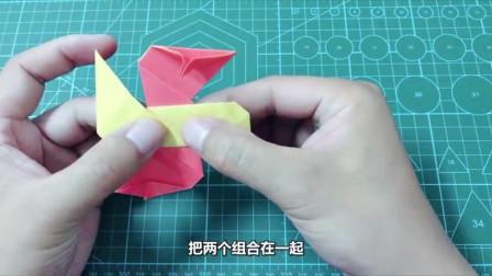 普通的手里剑玩具大家都会折,但立体的你也会折吗
