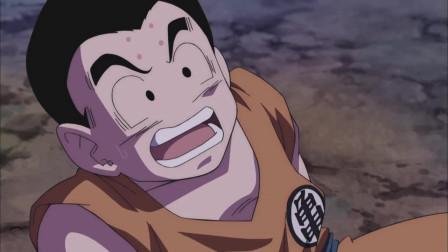 《龙珠》弗利萨竟一拳把库林打趴下,刚刚抬头又看到魔人布欧在对他笑