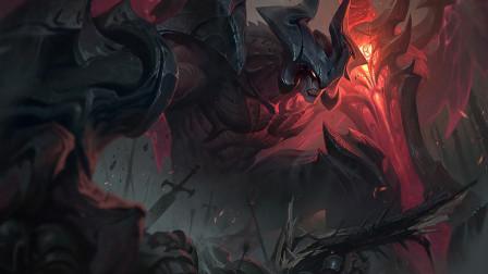 超神解说:暗裔剑魔亚托克斯,真1打5魔神降临,蝼蚁们颤抖吧