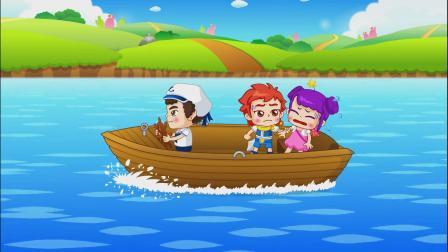 自然拼读故事 第42集坐小船 Sail the ocean