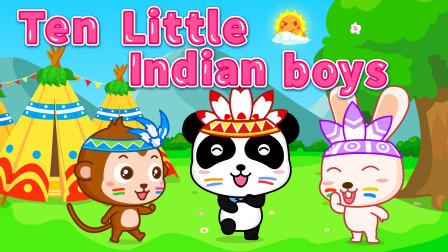 宝宝巴士英文儿歌:004 Ten Little Indian Boys