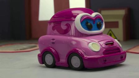 嘟嘟镇:汽车维修厂发生了惊天盗窃案,铁头警长的车轮被偷了,到底是谁这么大胆