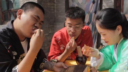 师妹想吃不一样的QQ糖,没想师兄把QQ糖做成果冻,滑爽可口