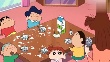 蜡笔小新:小新和小伙伴去妮妮家吃草莓,弄的一坨脏,妮妮妈气炸了!