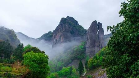 雁荡山 三是五岳之