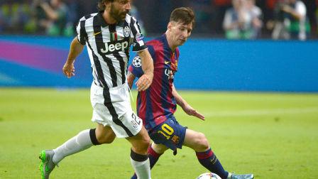 14/15赛季欧冠决赛:巴塞罗那VS尤文图斯