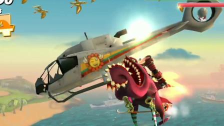 饥饿鲨世界:装满高科技的直巴斯升蝎直接把直升机卸了