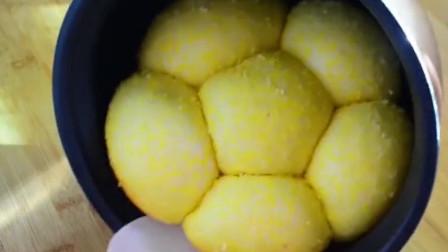 家常电饭锅面包的做法,简单易学,香喷喷的很好吃!