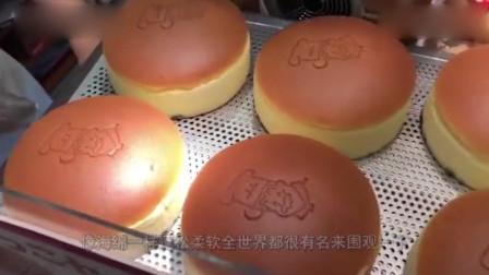 """日本街头流行的甜品""""芝士蛋糕"""",口感超软绵!"""