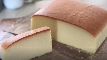 可以在家自己做的美食,日式棉花蛋糕,你值得拥有~~